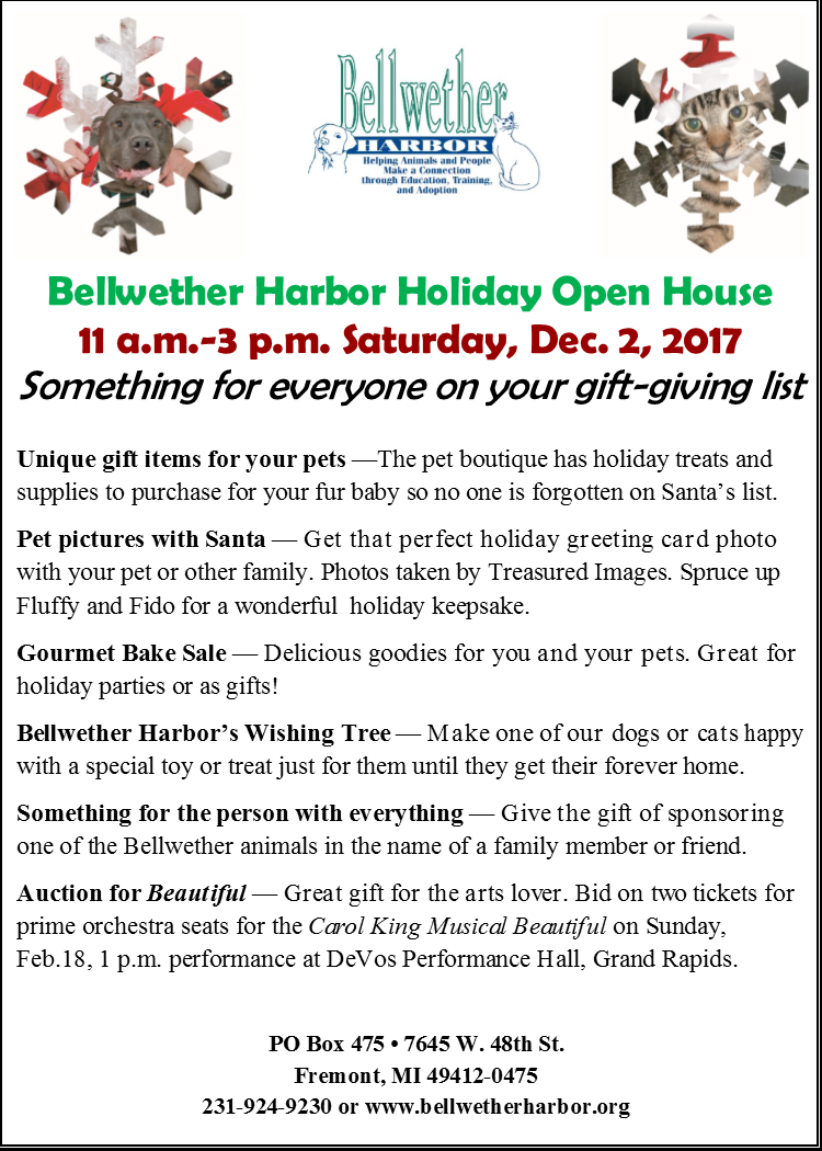 Bellwether Harbor's Holiday Open House 2017 @ Bellwether Harbor | Fremont | Michigan | United States
